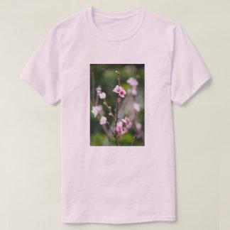 Camiseta Camiseta de la estación del flor de la primavera