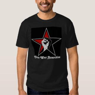 Camiseta de la estrella del anarquismo de la