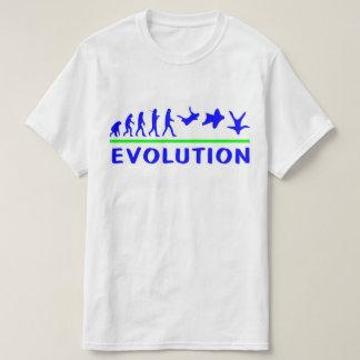 Camiseta de la evolución de Skydive