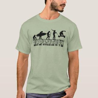 Camiseta de la evolución del embarque