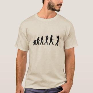 Camiseta de la evolución del golf