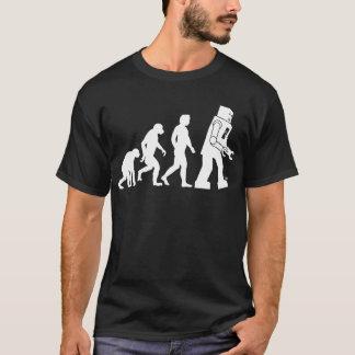 Camiseta de la evolución del robot