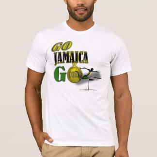 Camiseta de la fan de Jamaica del equipo de 2012