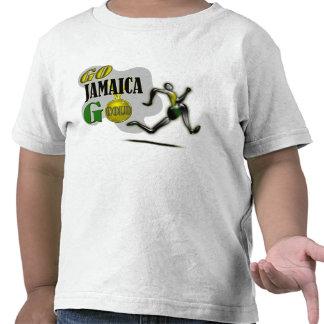 Camiseta de la fan de Jamaica del equipo de 2012 J