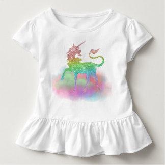 Camiseta de la fantasía del unicornio del arco