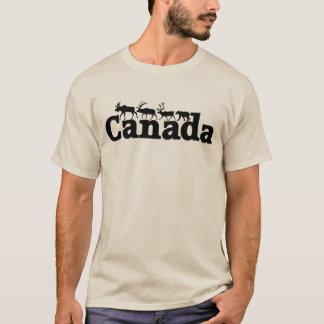 Camiseta de la fauna de Canadá