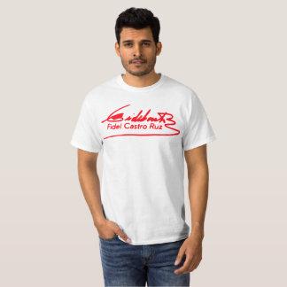 Camiseta de la firma de Fidel Castro