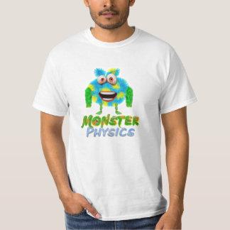Camiseta de la física del monstruo