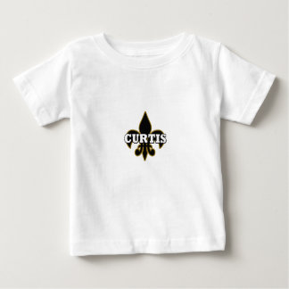 Camiseta de la flor de lis de Curtis del bebé