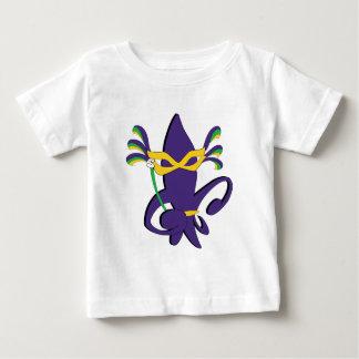 Camiseta de la flor de lis del carnaval