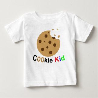 Camiseta de la galleta del bebé