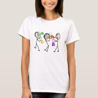 Camiseta de la gente del palillo de los amantes de
