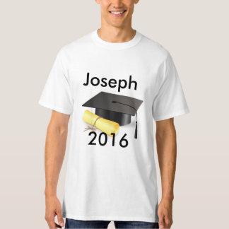 Camiseta de la graduación