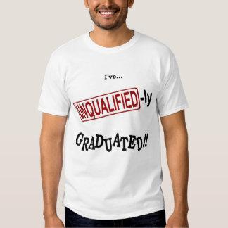 Camiseta de la graduación de la contabilidad de