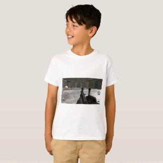 Camiseta de la Gráfico-Impresión del ataque del