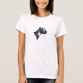 Camiseta de la granja del KNS: MOZA DESCARADA