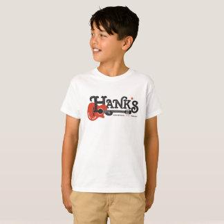 Camiseta de la guitarra de Hank (niños) en blanco