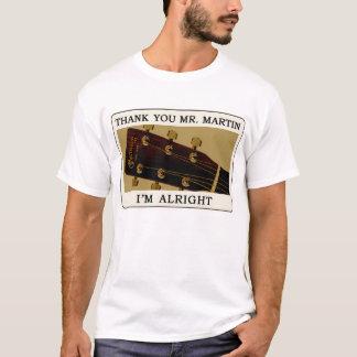 Camiseta de la guitarra del Bluegrass - gracias
