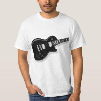 Camiseta de la guitarra eléctrica