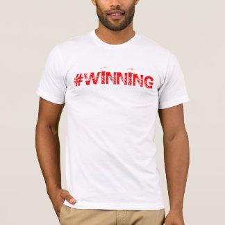 """Camiseta de la hachís-etiqueta """"que gana"""""""