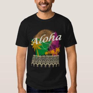 Camiseta de la hawaiana