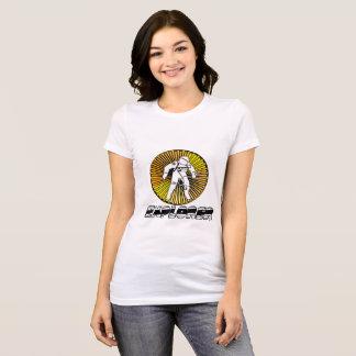 Camiseta de la hembra del explorador