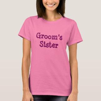 Camiseta de la hermana del novio