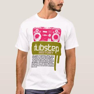 Camiseta de la historia de Dubstep (NUEVA)
