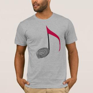 ¡Camiseta de la huella dactilar! Camiseta