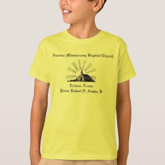 Camiseta de la iglesia baptista del misionario de
