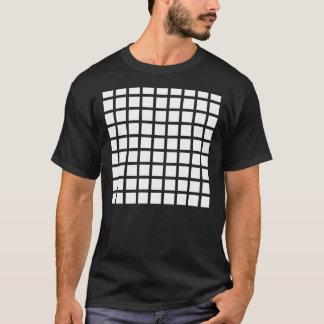 Camiseta de la ilusión óptica