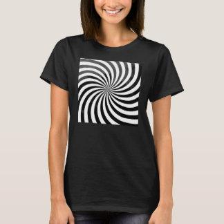 Camiseta Camiseta de la ilusión óptica de las mujeres