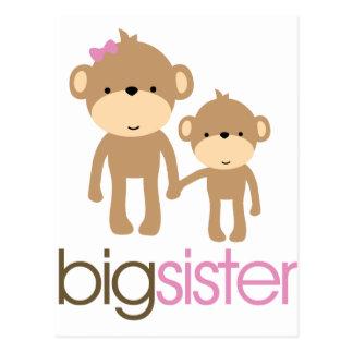 Camiseta de la invitación del embarazo del mono de postal