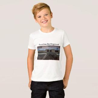 Camiseta de la Juego-Impresión, muchachos grandes