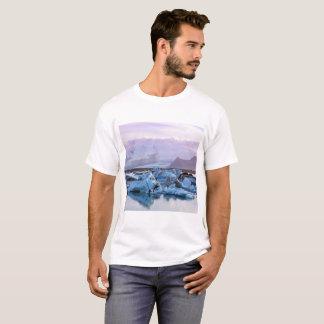 Camiseta de la laguna del glaciar de Jökulsárlón