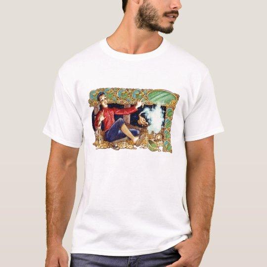 Camiseta de la lámpara de Aladdin