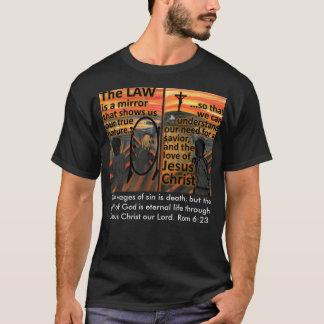 Camiseta de la ley y de la salvación