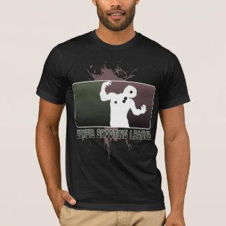 Camiseta de la liga del tiroteo del zombi