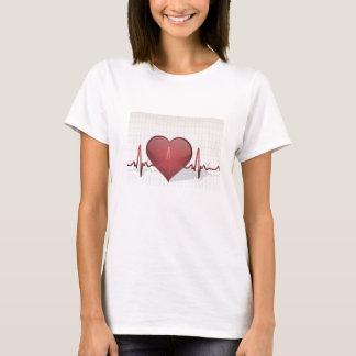 Camiseta de la línea de vida mujeres