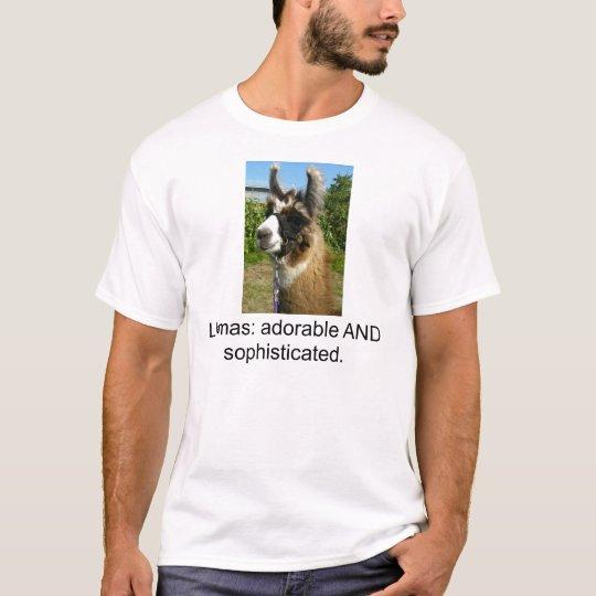 Camiseta de la llama