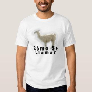 Camiseta de la llama o del SE de Cómo