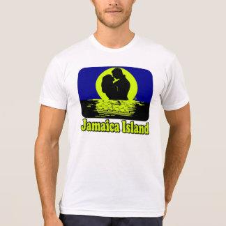 Camiseta de la luna de miel de la puesta del sol