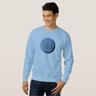 Camiseta de la luna de MST3K (azul clara)