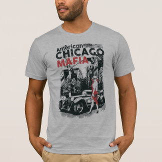 Camiseta de la mafia de Chicago