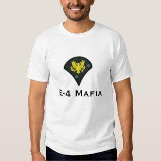 Camiseta de la mafia E-4