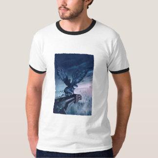 Camiseta de la maldición del titán, estilo del