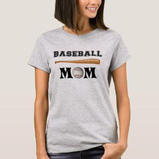 Camiseta de la mamá del béisbol