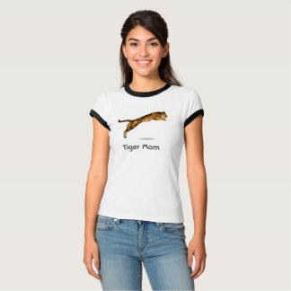 Camiseta de la mamá del tigre - tigre moderno del