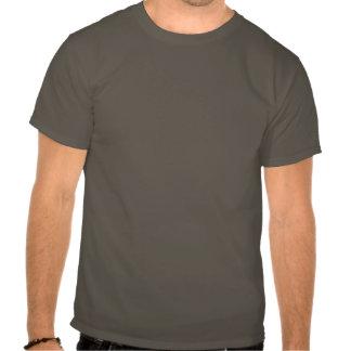 Camiseta de la mancha blanca /negra de Highlite