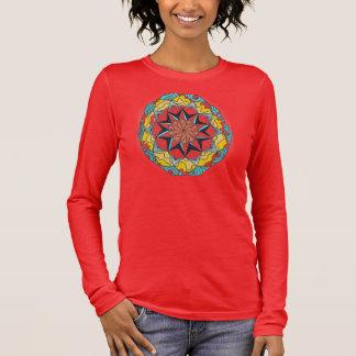 Camiseta de la mandala
